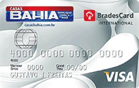 solicitar cartão de crédito casas bahia