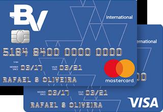 cartão de crédito bv internacional
