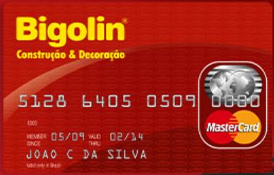 Solicitar Cartão de Crédito Bigolin