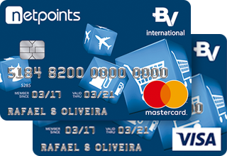 cartão bv netpoints internacional