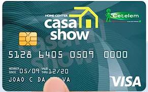 SOLICITAR Cartão de Crédito Casa Show