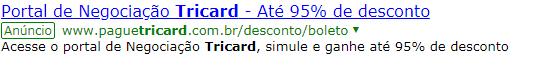aCORDO tRICARD