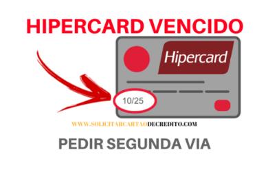 CARTAO HIPERCARD VENCIDO