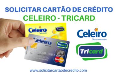 SOLICITAR CARTÃO DE CRÉDITO CELEIRO