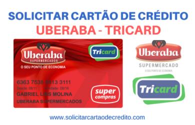 SOLICITAR CARTÃO DE CRÉDITO UBERABA TRICARD