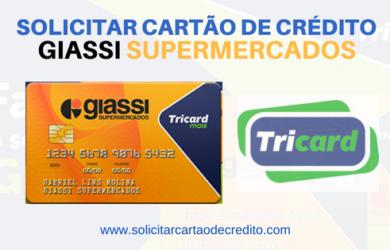 solicitar cartão de crédito GIASSI SUPERMERCADOS