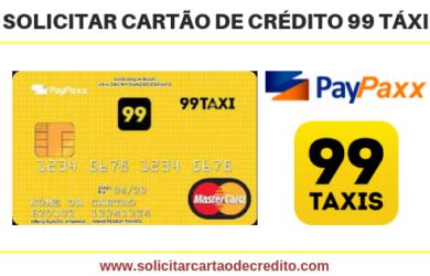SOLICITAR CARTÃO DE CRÉDITO 99 TAXI POP