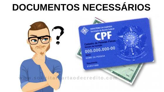DOCUMENTOS NECESSÁRIOS PARA FAZER O CARTÃO PONTAL CARD
