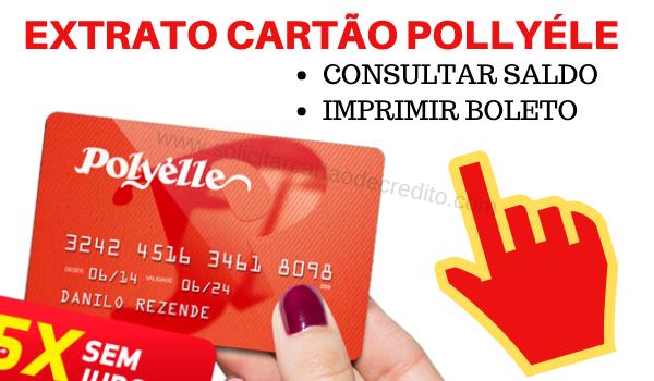 EXTRATO SALDO CARTÃO POLLYÉLE