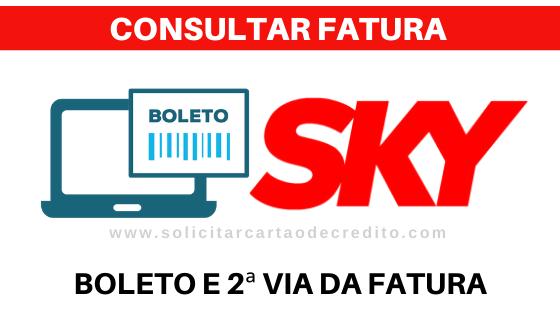 FATURA E BOLETO SKY PRE PAGO E POS PAGO