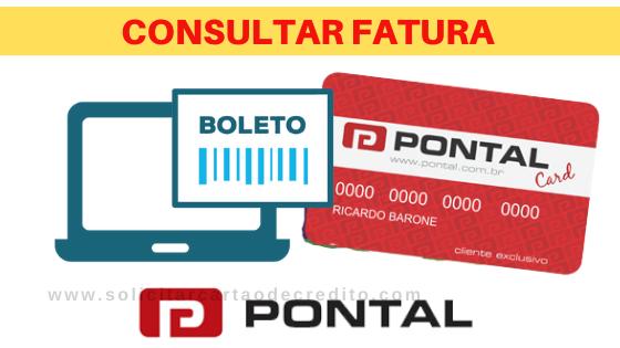 CONSULTAR FATURA PONTAL CARD