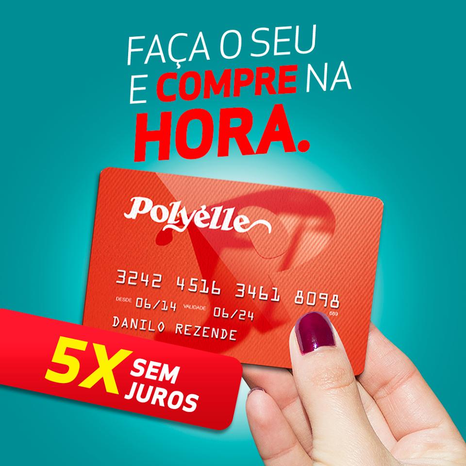 Cartão de crédito Pollyéle