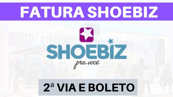 FATURA E EXTRATO CARTÃO SHOEBIZ