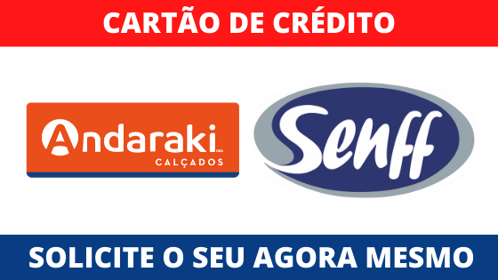 CARTÃO ANDARAKI SOLICITAR
