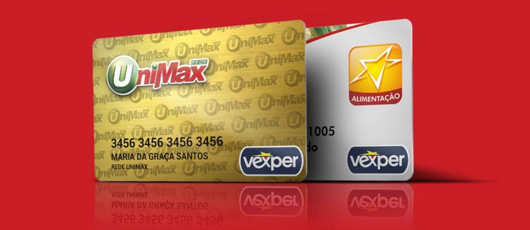 Solicitar cartão Unimax