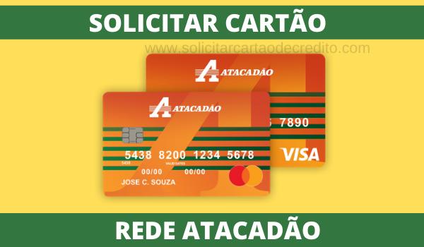 SOLICITAR CARTÃO ATACADÃO