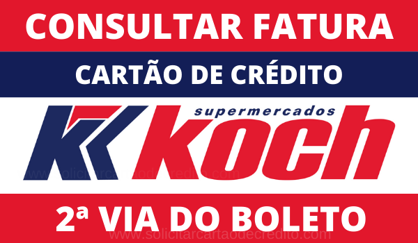 BOLETO E FATURA CARTÃO KOSH DM CARD