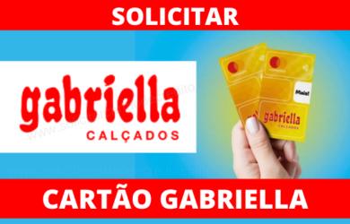 SOLICITAR CARTÃO LOJAS GABRIELLA CALÇADOS