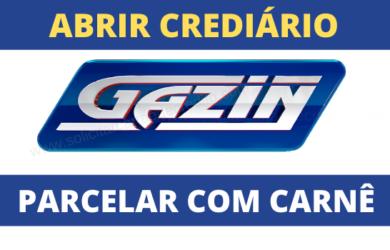 abrir crediário lojas gazin
