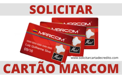 PEDIR CARTAO MARCOM