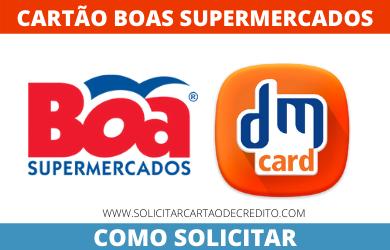 SOLICITAR CARTÃO BOAS SUPERMERCADOS