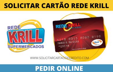 SOLICITAR CARTÃO KRILL SUPERMERCADOS