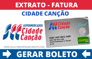 EXTRATO FATURA E BOLETO CIDADE CANÇÃO