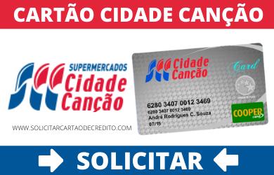 SOLICITAR CARTÃO CIDADE CANÇÃO