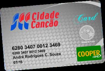 Cartão Cidade Canção