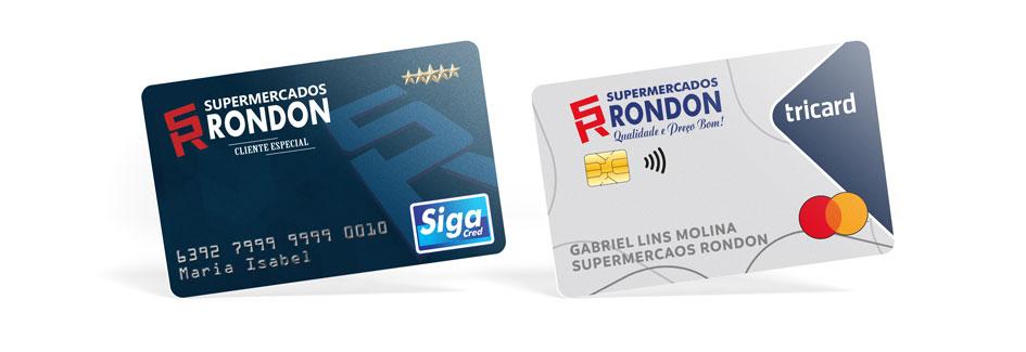 Cartão Supermercados Rondon