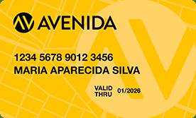 Cartão Lojas Avenida