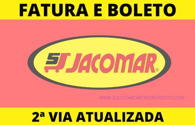 FATURA E BOLETO CARTÃO JACOMAR