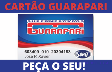 SOLICITAR CARTÃO GUARAPARI SUPERMERCADOS