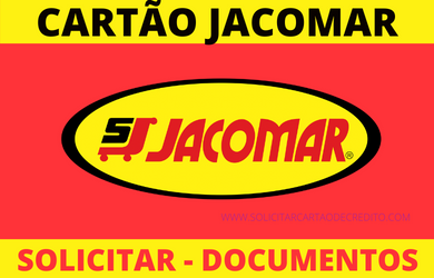 SOLICITAR CARTÃO JACOMAR SUPERMERCADOS